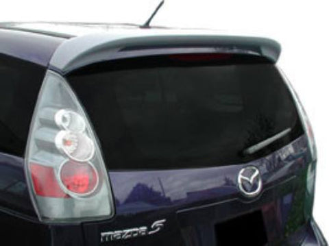 Mazda 5 Hatchback Factory Roof No Light Spoiler (2006-2011) - DAR Spoilers