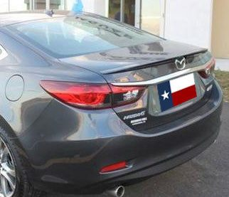 Mazda 6 Sedan Factory Lip No Light Spoiler (2014 and UP) - DAR Spoilers