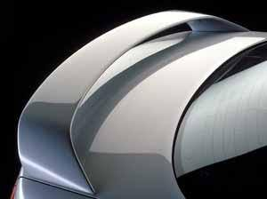 Mazda 6 Sedan Factory Post Clr/Light Spoiler (2003-2008) - DAR Spoilers