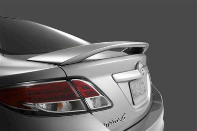 Rear Spoilers - Mazda 6 Sedan Factory Post Clr Light Spoiler (2009-2013)