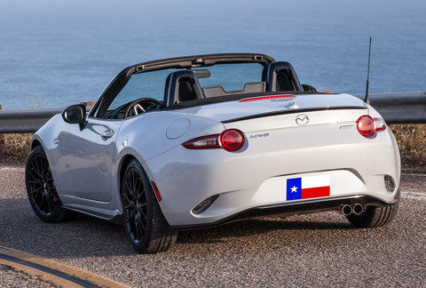 Rear Spoilers - Mazda Miata Mx-5 Factory Lip No Light Spoiler (2016 And UP)
