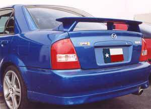 Mazda Protege Mp3 Factory Post Lighted Spoiler (1999-2003) - DAR Spoilers