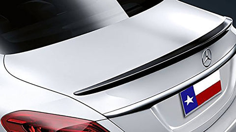 Mercedes C Class 4Dr Factory Lip No Light Spoiler (2015 and UP) - DAR Spoilers