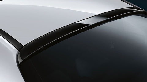 Mercedes C Class 4Dr Factory Window No Light Spoiler (2015 and UP) - DAR Spoilers