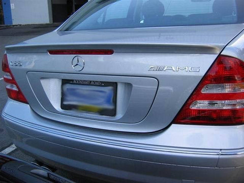 Mercedes C Class Factory Lip No Light Spoiler (2001-2007) - DAR Spoilers