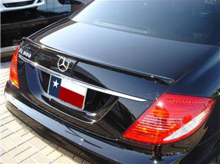 Mercedes CL Custom Lip No Light Spoiler (2008 and UP) - DAR Spoilers