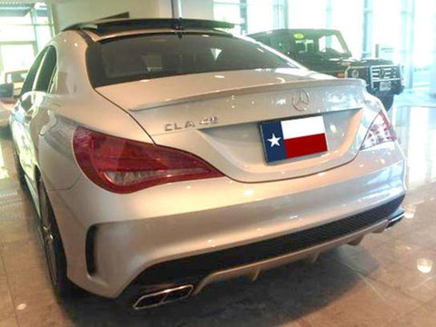 Mercedes CLA Factory Lip No Light Spoiler (2014 and UP) - DAR Spoilers