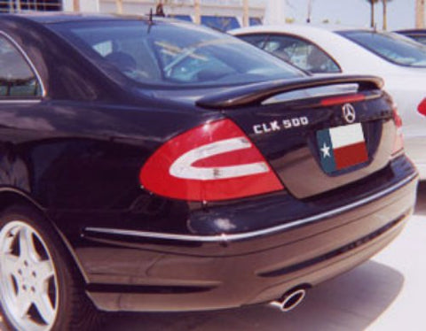 Mercedes CLK Factory Post No Light Spoiler (2002 only) - DAR Spoilers
