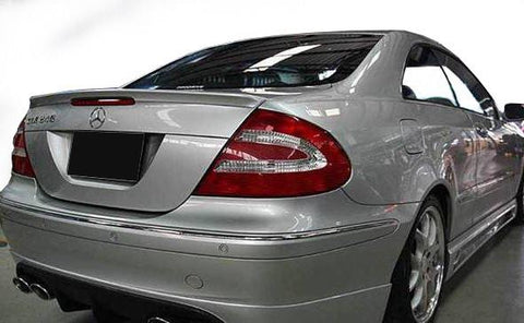 Mercedes CLK55 Factory Lip No Light Spoiler (2003-2009) - DAR Spoilers