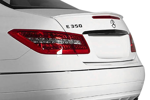 Mercedes E-Class Convertible Factory Lip No Light Spoiler (2011-2016) - DAR Spoilers