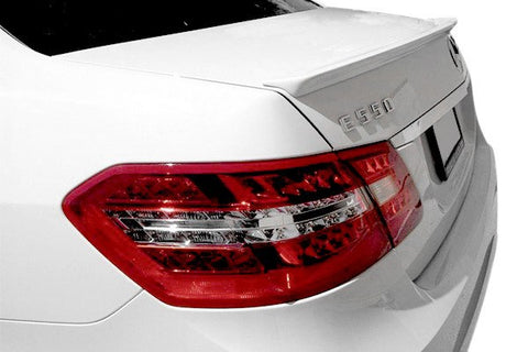 Mercedes E Class Sedan Factory Lip No Light Spoiler (2010-2016) - DAR Spoilers