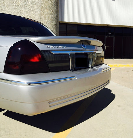 Mercury Grand Marquis Factory Flush No Light Spoiler (2003-2011) - DAR Spoilers