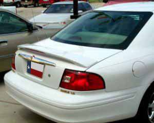 Rear Spoilers - Mercury Sable Factory Post Lighted Spoiler (2000-2006)