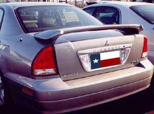 Rear Spoilers - Mitsubishi Diamante Factory Post Lighted Spoiler (2002-2004)