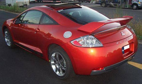 Rear Spoilers - Mitsubishi Eclipse Coupe Factory Post No Light Spoiler (2006-2012)