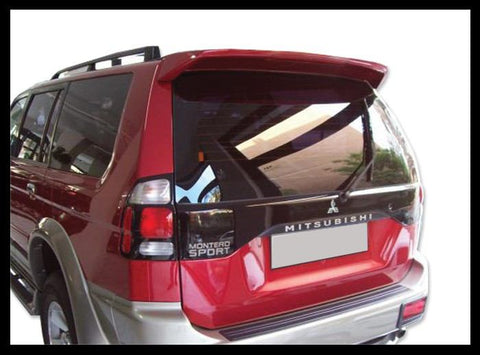 Rear Spoilers - Mitsubishi Montero Factory Roof No Light Spoiler (2001-2006)