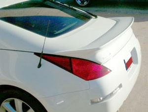 Rear Spoilers - Nissan 350Z Coupe Aggressive Custom Flush No Light Spoiler (2003-2008)