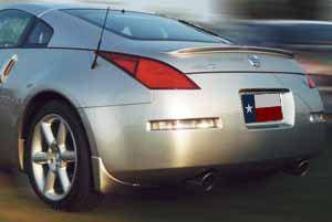 Nissan 350Z Coupe Factory Lip No Light Spoiler (2003-2008) - DAR Spoilers