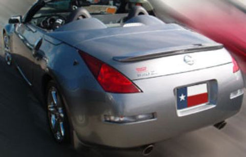 Nissan 350Z Roadster Custom Lip No Light Spoiler (2003-2009) - DAR Spoilers
