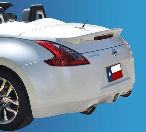 Nissan 370Z Roadster Convt Custom Flush No Light Spoiler (2010 and UP) - DAR Spoilers