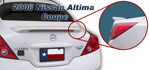 Nissan Altima Coupe Custom Post No Light Spoiler (2008 and UP) - DAR Spoilers