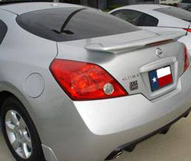 Nissan Altima Coupe (G35 Inspired) Custom Flush Lighted Spoiler (2008-2013) - DAR Spoilers