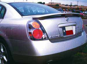 Rear Spoilers - Nissan Altima Factory 3Post Lighted Spoiler (2002-2006)