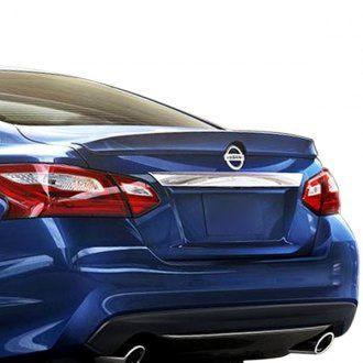 Nissan Altima Sedan (Sm) SR Factory Lip No Light Spoiler (2016 and UP) - DAR Spoilers