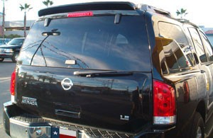 Nissan Armada Custom Roof No Light Spoiler (2004 and UP) - DAR Spoilers
