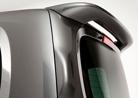Rear Spoilers - Nissan Cube Factory Roof No Light Spoiler (2010-2014)