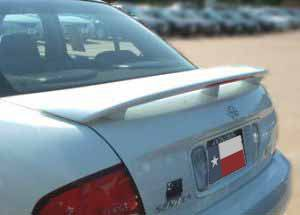 Rear Spoilers - Nissan Sentra Factory 3Post Lighted Spoiler (2000-2006)