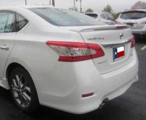 Nissan Sentra Factory Flush Lighted Spoiler (2013-2019) - DAR Spoilers