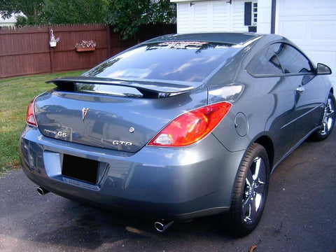 Rear Spoilers - Pontiac G6 Coupe Custom Post No Light Spoiler (2005-2010)