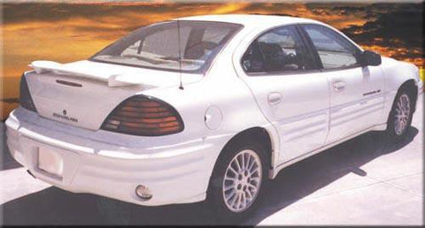 Pontiac Grand Am Factory Post No Light Spoiler (1999-2005) - DAR Spoilers