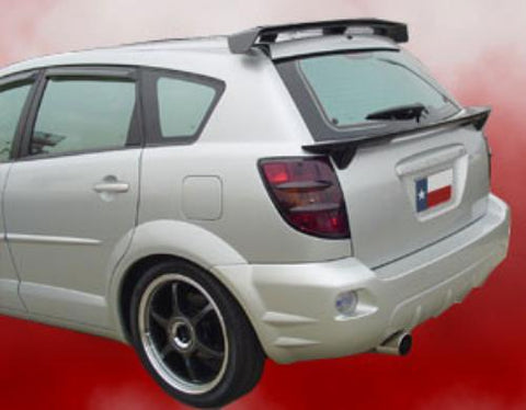 Pontiac Vibe Factory Roof No Light Spoiler (Upper) (2002-2008) - DAR Spoilers
