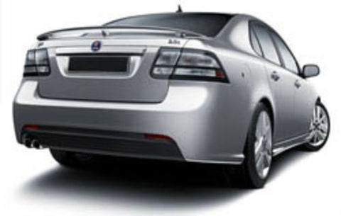 Saab 9.3 Factory 3Post No Light Spoiler (2008 and UP) - DAR Spoilers