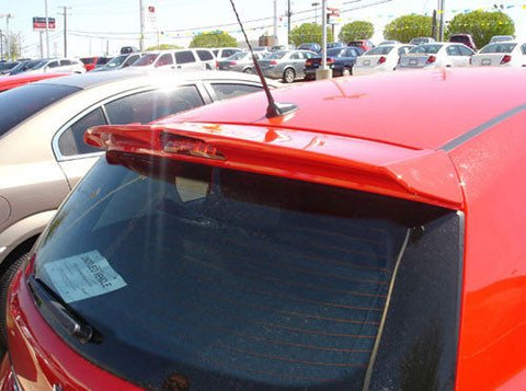 Rear Spoilers - Saturn Astra 5-Dr Hatchback Custom Roof No Light Spoiler (2008-2010)