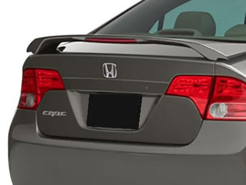 Rear Spoilers - Saturn Ion 4Dr Custom Post Lighted Spoiler (2003-2008)