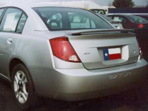 Rear Spoilers - Saturn Ion 4DR Factory Post No Light Spoiler (2003-2008)