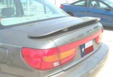 Saturn SL Sedan Factory Post No Light Spoiler (2000-2002) - DAR Spoilers