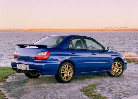 Rear Spoilers - Subaru Impreza WRX Factory Post Clr Light Spoiler (2002-2007)