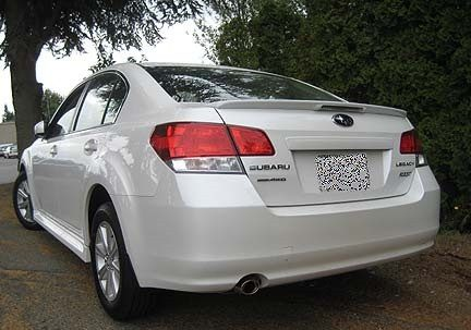 Rear Spoilers - Subaru Legacy Factory Flush Clr Light Spoiler (2010-2014)
