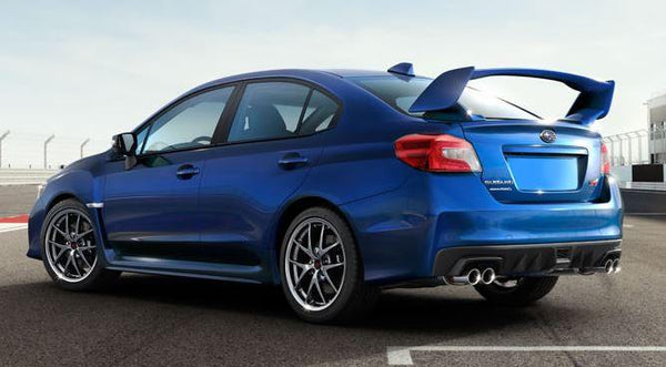 subaru wrx sti factory 2post no light spoiler 2015 and up dar spoilers