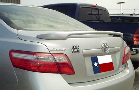 Rear Spoilers - Toyota Camry Custom Post No Light Spoiler (2007-2011)