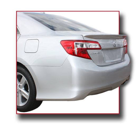 Rear Spoilers - Toyota Camry Factory Lip No Light Spoiler (2012-2014)