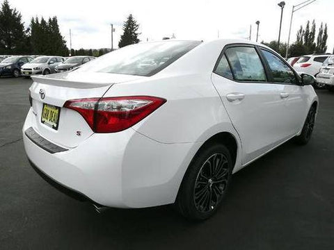 Toyota Corolla Factory Lip No Light Spoiler (2014 - 2019) - DAR Spoilers