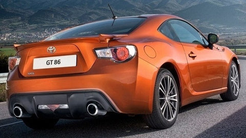 Rear Spoilers - Toyota GT-86 Factory Flush No Light Spoiler (2012 And UP)