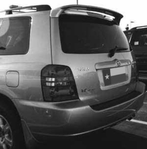 Rear Spoilers - Toyota Highlander Factory Roof No Light Spoiler (2001-2007)