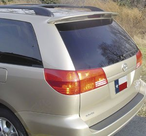 Toyota Sienna Factory Roof No Light Spoiler (2005-2010) - DAR Spoilers