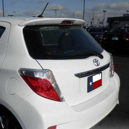 Rear Spoilers - Toyota Yaris Hatchback Factory Roof No Light Spoiler (2012 And UP)